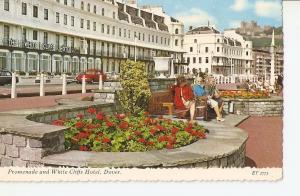 Postal 034441 : Promenade and White Cliffs Hotel Dover