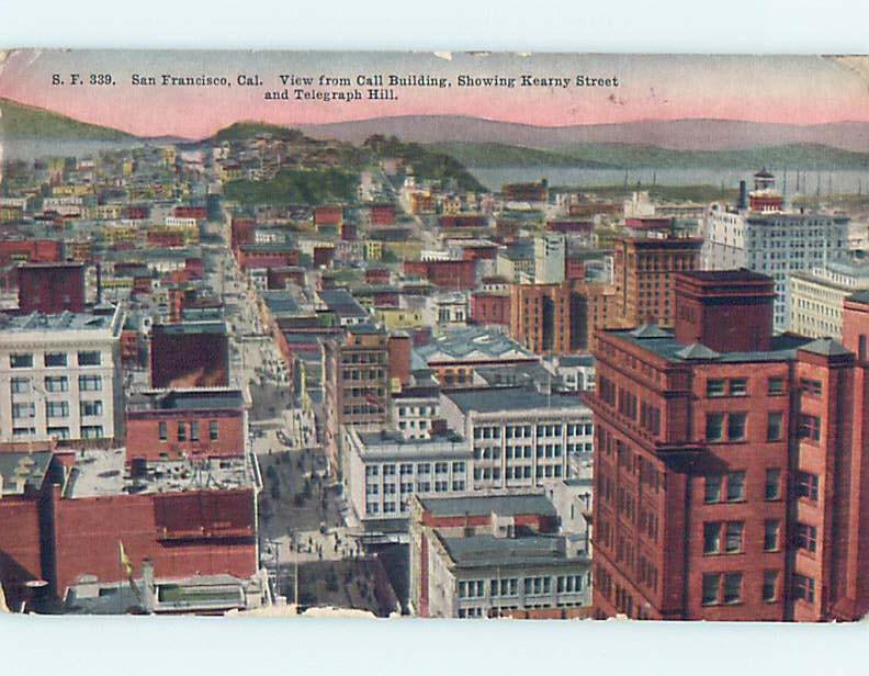 Divided-Back POSTCARD FROM San Francisco California CA HM7210