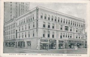 Florida Jacksonville Hotel Andrew Jackson 1941 Curteich