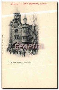 Old Postcard Remembrance Belle Jardiniere Bordeaux Le Vieux Paris Le Chatelet