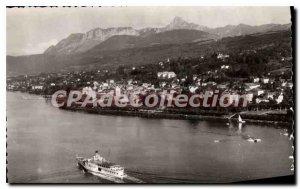 Old Postcard Evian Les Bains Vue Generale The Big Boat City