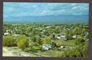 UT Aerial View SALINA UTAH Postcard PC