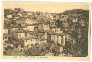 Algeria, Constantine, La Ville Arabe, unused Postcard