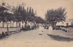 Tabarka , coastal town located in north-western Tunisia, 00-10s Entree de Ville
