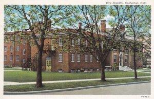 COSHOCTON, Ohio, 1930s-40s; City Hospital