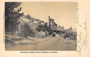 Greystone Winery Calistoga, California, USA 1906