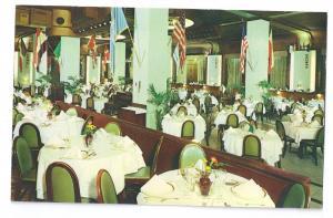 Kuglers Restaurant Philadelphia PA Main Hall Flags