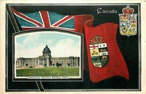 Canada, Saskatchewan, Regina, Parliament Building, Stedman Brothers No. S B 1825