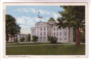 State Capital, Raleigh, North Carolina,  Used 1935