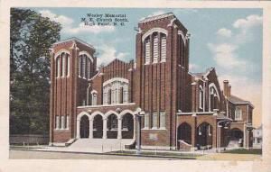 Wesley Memorial, M. E. Church South, High Point, North Carolina, PU-1919