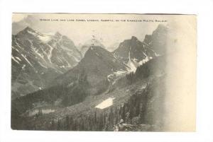 Mirror Lake & Lake Agnes, Laggan, Alberta, On The Canadian Pacific Railway, P...