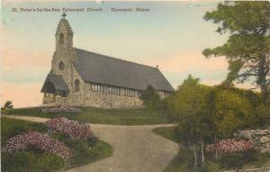 Ogunquit Maine~Handcolored: St Peter's by the Sea Episcopal Church c1910