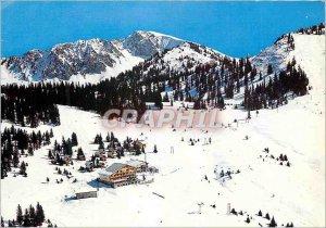 Modern Postcard Chatel Haute Savoie ski fields Super Chatel