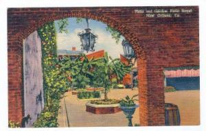 Patio & Garden, Patio Royal, New Orleans, Louisiana, 1930-1940s