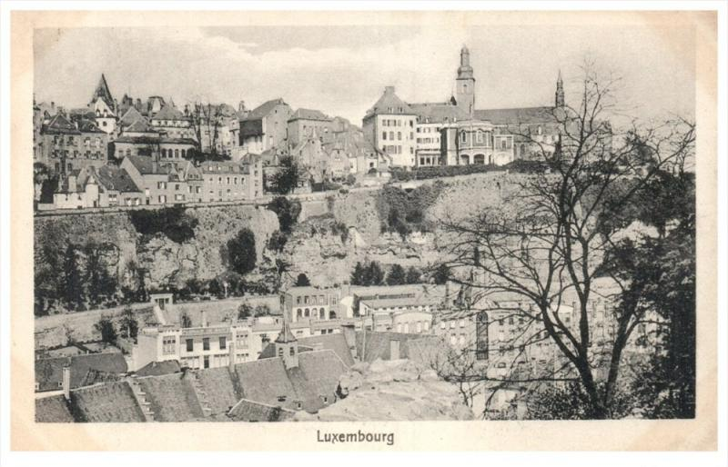 20681 Aerial View of Luxembourg
