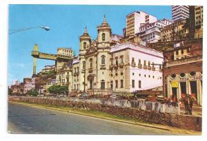 Brazil Salvador Bahia Elevador Lacerda1972 4X6 chrome