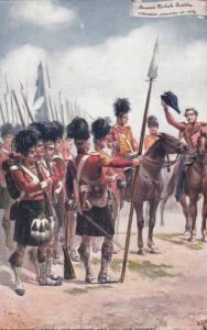 Famous British Battles: CORUNNA ...00-10s ; TUCK 9135