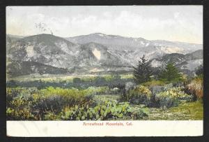 Arrowhead Mountain California Used c1912