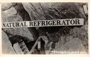 LP47 Coca Cola Smugglers Notch Vermont Vintage Postcard  RPPC