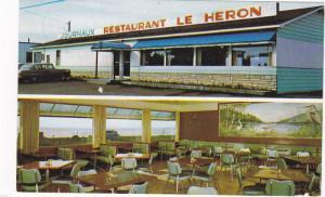 Restaurant Le Heron , Carleton-sur-Mer , Quebec , Canada , 40-60s