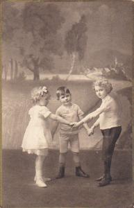 Young German Children Dancing