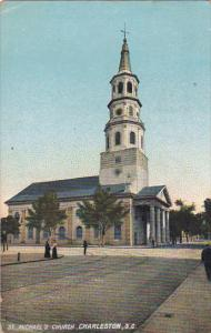 St Michael's Church , CHARLESTON , South Carolina , PU-1909