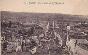 NANCY, Vue generale sur la Ville-Vielle, Meurthe et Moselle, France, 00-10s