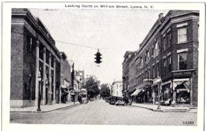 Williams Street, Lyons NY