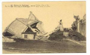 Zeebrugge , Belgium, 1918  Ruines de Zeebrugge,  Water works
