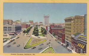 Preston Gardens, Baltimore, Maryland, 30-40´s