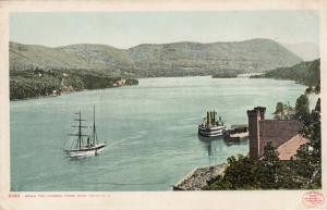 WEST POINT , NY, 1905 ; Down the Hudson
