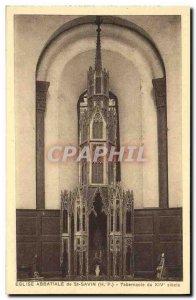 Postcard Old St Savin The Abbey Church Tabernacle 14th
