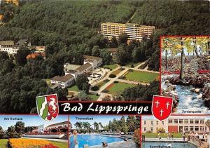 Bad Lippspringe, Am Kurhaus Thermalbad, Jordanquelle, Kurmittelhaus