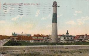 New Jersey Atlantic City Absecon Lighthouse 1912