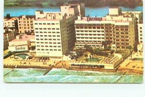 Buy Postcard Barcelona Hotel Miami Beach Florida