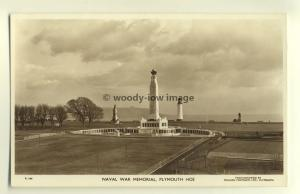 tp5742 - Devon - The Naval War Memorial on Plymouth Hoe Seafront  - Postcard