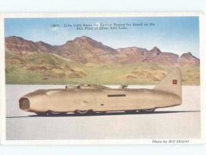 1939 CAR LAND SPEED RECORD ON FLATS OF GREAT SALT LAKE Salt Lake City UT E6136