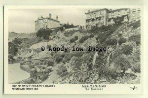 pp1627 -  The Ventnor Cascade,  in early 1900s - Pamlin postcard