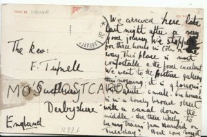 Genealogy Postcard - The Rev F Tupnell - Sudbury - Derbyshire - Ref 8888A