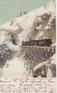 White Pass Yukon Railroad , Alaska , 1908