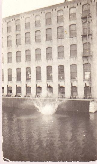 High Dive FromTOp of Paper Mill - Splash - Real Photo