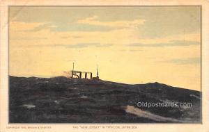 Military Battleship Postcard, Old Vintage Antique Military Ship Post Card New...