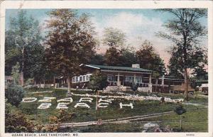 Ozark Beach Lake Taneycomo Missouri 1939