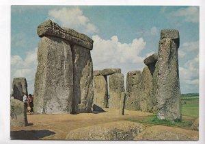 Stonehenge, Wiltshire, Interior of Circle, looking north, 1971 unused Postcard