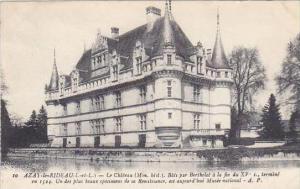 France Azay le Rideau Le Chateau