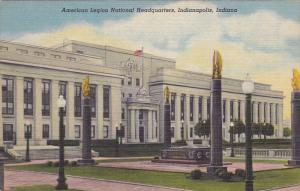 American Legion National Headquarters, INDIANAPOLIS, Indiana, 1930-1940s