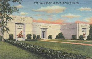 WEST PALM BEACH , Florida , 1930-40s ; Norton Gallery of Art