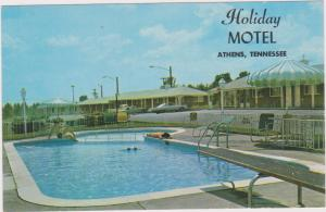 Holiday Motel & Swimming Pool , ATHENS , Tennessee , 40-60s