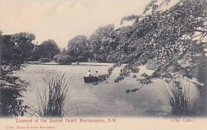 Boat, The Lake, Convent Of The Sacred Heart, Roehampton, S. W., London, Engla...