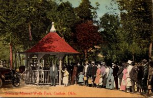 Oklahoma Guthrie Scene In Mineral Wells Park